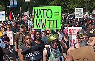 Anti NATO Protest in Chicago