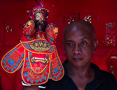 Chinese Puppet Show, Malang, East Java