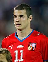 Fotball<br /> VM-kvalifisering<br /> Slovakia v Tsjekkia<br /> 05.09.2009<br /> Foto: Gepa/Digitalsport<br /> NORWAY ONLY<br /> <br /> Bild zeigt Daniel Pudil (CZE)