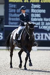 Woodhead Amy Jean, GBR, Mount St John Zonetta<br /> Longines FEI/WBFSH World Breeding Dressage Championships for Young Horses - Ermelo 2017<br /> © Hippo Foto - Dirk Caremans<br /> 04/08/2017