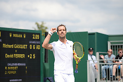 July 4, 2017 - Wimbledon, Angleterre - richard gasquet (Credit Image: © Panoramic via ZUMA Press)