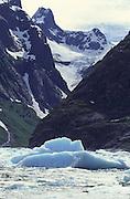 Glacier, Inside Passage, Alaska<br />