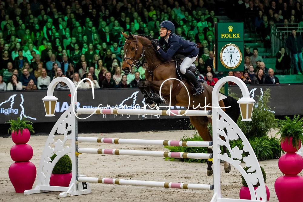 Von Eckermann Henrik, SWE, Toveks Mary Lou <br /> Rolex Grand Slam of Showjumping<br /> The Dutch Masters - 'S Hertogenbosch 2019<br /> © Hippo Foto - Sharon Vandeput<br /> <br />  17/03/2019