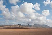 Landscape Views of Los Molinos, Fuerteventura, Canary Islands, Spain