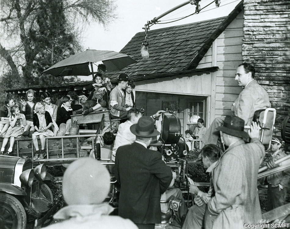 1946 Filming Kettles Goes To Town at Universal Studios