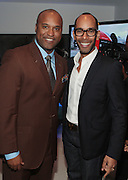 14 September 2010-New York, NY- Londell McMillian and Honoree Celebrity Make-up Artist Sam Fine at The Jones Awards Celebrating Diversity in Fashion and Beauty Present by ' My Black Is Beautiful ' and held at The Alvin Ailey Citigroup Theater on September 14, 2010 in New York City. Photo Credit: Terrence Jennings