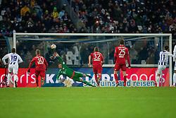16.01.2016, Wildparkstadion, Karlsruhe, GER, Testspiel, Karlsruher SC vs FC Bayern Muenchen, im Bild Manuel Neuer (FC Bayern Muenchen) hat gegen den Elfmeter von Dimitrij Nazarov (Karlsruher SC) keine Chance // during a preperation Football Match between Karlsruher SC and FC Bayern Munich at the Wildparkstadion in Karlsruhe, Germany on 2016/01/16. EXPA Pictures © 2016, PhotoCredit: EXPA/ Eibner-Pressefoto/ Neis<br /> <br /> *****ATTENTION - OUT of GER*****