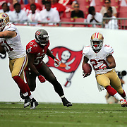 San Francisco 49ers running back LaMichael James (23) during an NFL football game between the San Francisco 49ers  and the Tampa Bay Buccaneers on Sunday, December 15, 2013 at Raymond James Stadium in Tampa, Florida.. (Photo/Alex Menendez)