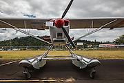 2007 Rans S-7 floatplane at Wings and Wheels at Oregon Aviation Historical Society.
