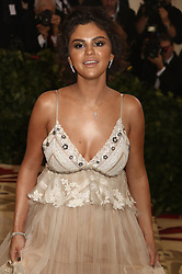May 7, 2018 - New York City, New York, U.S. - Singer SELENA GOMEZ attends the Costume Institute Benefit celebrating the opening of Heavenly Bodies: Fashion and the Catholic Imagination exhibit held at at The Metropolitan Museum of Art. (Credit Image: © Nancy Kaszerman via ZUMA Wire)