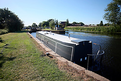 UK ENGLAND LEICESTERSHIRE SILEBY 30JUN15 - Sileby lock, marina and meadows near the river Soar at Sileby,  Leicestershire.<br /> <br /> jre/Photo by Jiri Rezac / WWF UK<br /> <br /> © Jiri Rezac 2015