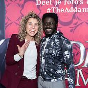 NLD/Amsterdam/20191201 - Nederlandse premiere The Addams Family, Andre Dongelmans en Amber Tromp Meesters