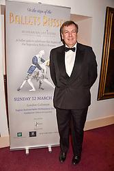 John Whittingdale MP at the Russian Ballet Icons Gala, The London Coliseum, St.Martin's Lane, London,  England. 12 March 2017.