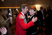 DUGGIE FIELDS; NELL CAMPBELL, Book launch party for the paperback of Nicky Haslam's book 'Sheer Opulence', at The Westbury Hotel. London. 21 April 2010