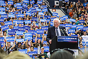 Bernie Sanders at Penn State's Rec Hall one before Pennsylvania's primary election.