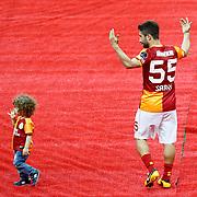 Galatasaray's Sabri Sarioglu during their Turkish superleague soccer derby match Galatasaray between Trabzonspor at the AliSamiYen spor kompleksi TT Arena in Istanbul Turkey on Saturday, 18 May 2013. Photo by Aykut AKICI/TURKPIX