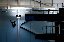 Lois Toulson from City of Leeds Diving Club competes during the Womens 10m Platform Preliminary - Mandatory byline: Rogan Thomson/JMP - 23/01/2016 - DIVING - Southend Swimming & Diving Centre - Southend-on-Sea, England - British National Diving Cup Day 2.