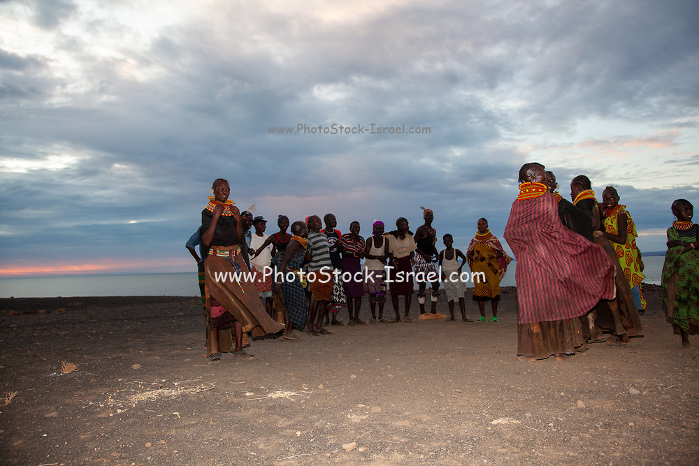 The Turkana are a Nilotic people native to the Turkana County in northwest Kenya, a semi-arid climate region bordering Lake Turkana in the east, Pokot, Rendille and Samburu people to the south, Uganda to the west, and South Sudan and Ethiopia to the north. They refer to their land as Turkan.