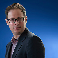 Nate Silver at the Edinburgh International Book Festival 2013. 13th August 2013<br /> <br /> Picture by Russell G Sneddon/Writer Pictures