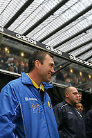 Photo: Andrew Unwin.<br />Newcastle United v Mansfield Town. The FA Cup.<br />07/01/2006.<br />Mansfield's manager, Peter Shirtliff.