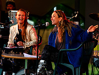 Helen Bagnel and Juliet Russel at the Also Festival Park Farm, Compton Verney, Warwick 29th aug 2020 photo by Mark Anton Smith