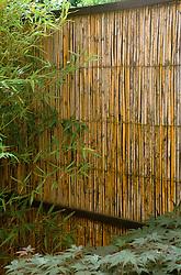 Bamboo fence panel. Design: Paul Kelly