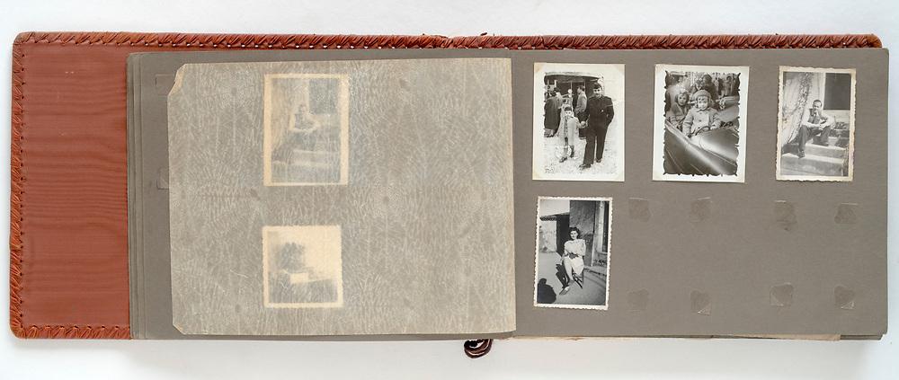 family photo album France 1950s