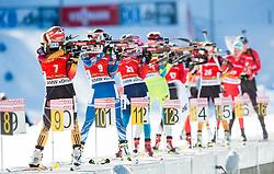 HILDEBRAND Franziska (GER), VITKOVA Veronika (CZE) compete during Women 12,5 km Mass Start at day 4 of IBU Biathlon World Cup 2014/2015 Pokljuka, on December 21, 2014 in Rudno polje, Pokljuka, Slovenia. Photo by Vid Ponikvar / Sportida