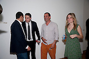 GIGI GIANUZZI; ALEX DELLAL; ADAM WAYMOUTH; GRACE PILKINGTON, Crapula- exhibition of work by Henry Hudson. Hoxton Sq. Gallery. London. 3 June 2010. -DO NOT ARCHIVE-© Copyright Photograph by Dafydd Jones. 248 Clapham Rd. London SW9 0PZ. Tel 0207 820 0771. www.dafjones.com.