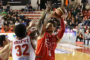 DESCRIZIONE : Roma Campionato Lega A 2013-14 Acea Virtus Roma EA7 Emporio Armani Milano <br /> GIOCATORE : Alessandro Gentile<br /> CATEGORIA : tiro<br /> SQUADRA : EA7 Emporio Armani Milano <br /> EVENTO : Campionato Lega A 2013-2014<br /> GARA : Acea Virtus Roma EA7 Emporio Armani Milano <br /> DATA : 02/12/2013<br /> SPORT : Pallacanestro<br /> AUTORE : Agenzia Ciamillo-Castoria/M.Simoni<br /> Galleria : Lega Basket A 2013-2014<br /> Fotonotizia : Roma Campionato Lega A 2013-14 Acea Virtus Roma EA7 Emporio Armani Milano <br /> Predefinita :