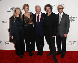 (L-R) Producer Judy Tossell, actress Janet McTeer, actor Christopher Plummer, director David Leveaux and producer Lou Pitt attend 'The Exception' screening during the 2017 TriBeCa Film Festival at at BMCC Tribeca PAC on April 26, 2017 in New York City. (Photo by Debby Wong/imageSPACE) *** Please Use Credit from Credit Field ***