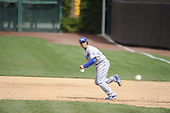 CHICAGO - MAY  04:  Jerry Hairston #6 of the Los Angeles Dodgers runs the bases against the Chicago Cubs on May 4, 2012 at Wrigley Field in Chicago, Illinois.  The Cubs defeated the Dodgers 5-4.  (Photo by Ron Vesely)   Subject:  Jerry Hairston