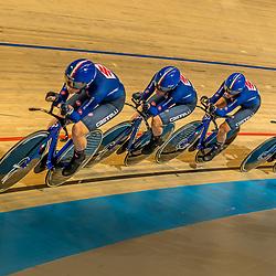 APELDOORN (NED) EUROPEAN TRACK CHAMPIONSHIPS, 19th August<br /> Italy European Champion U23 women