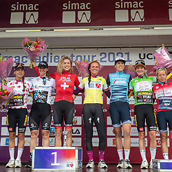 ARNHEM (NED) CYCLING, SIMAC LADIES TOUR,   August 29th 2021, <br /> All jerseys
