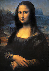 'Mona Lisa', the world famous painting by Leonardo da Vinci exhibited at the Louvre in Paris, France,on may 2011. Archaeologists are excavating the abandoned Convent of St.Ursula in Florence looking for the remains of Renaissance woman Lisa Gherardini Del Giocondo, believed to have posed for Leonardo Da Vinci's painting 'Mona Lisa' . She reportedly spent her last two years (until her death in 1542) at the Convent of  St. Ursula after her husband's death.The archaeologists will attempt to extract DNA from the skeleton to compare it with the remains of two of Del Giocondo's children, buried in a separate cemetery. They also hope to reconstruct her face to compare it with that of the Mona Lisa painting. Photo by Eric Vandeville/ABACAPRESS-COM  | 277108_023