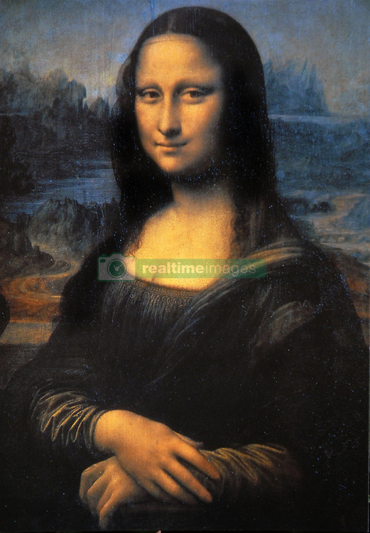 'Mona Lisa', the world famous painting by Leonardo da Vinci exhibited at the Louvre in Paris, France,on may 2011. Archaeologists are excavating the abandoned Convent of St.Ursula in Florence looking for the remains of Renaissance woman Lisa Gherardini Del Giocondo, believed to have posed for Leonardo Da Vinci's painting 'Mona Lisa' . She reportedly spent her last two years (until her death in 1542) at the Convent of  St. Ursula after her husband's death.The archaeologists will attempt to extract DNA from the skeleton to compare it with the remains of two of Del Giocondo's children, buried in a separate cemetery. They also hope to reconstruct her face to compare it with that of the Mona Lisa painting. Photo by Eric Vandeville/ABACAPRESS-COM    277108_023
