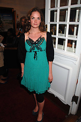 Actress RUTH WILSON at the Grand Classics presentation of Ken Loach's Oscar winning film 'Closely Observed Trains' held at the Electric Cinema, Portobello Road, London W11 on 9th July 2007.<br /><br />NON EXCLUSIVE - WORLD RIGHTS