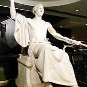 George Washington Statue (1832) on display at the National Museum of American History at the Smithsonian Institution