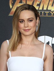 Marvel Studios Avengers: Infinity War World Premiere in Hollywood, California on 4/23/18. 23 Apr 2018 Pictured: Brie Larson. Photo credit: River / MEGA TheMegaAgency.com +1 888 505 6342