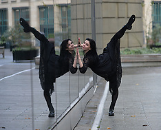 Royal Ballet star in world premiere photocall, Edinburgh, 21 November 2018