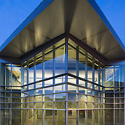 Image of Folsom Lake Gym as of 2014. Education Infrastructure Architectural Example of Chip Allen Photography.