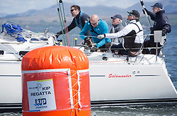 Pelle P Kip Regatta 2019 Day 1<br /> <br /> Light and bright conditions for the opening racing on the Clyde keelboat season<br /> 3361C, Salamander XXII,