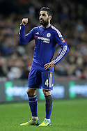 Cesc Fabregas of Chelsea looks on. The Emirates FA cup, 4th round match, MK Dons v Chelsea at the Stadium MK in Milton Keynes on Sunday 31st January 2016.<br /> pic by John Patrick Fletcher, Andrew Orchard sports photography.