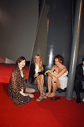 Left to right, JASMINE GUINNESS and sisters MATILDA TEMPERLEY and ALICE TEMPERLEYat the Royal Academy of Art Summer Exhibition Preview Party on 4th June 2008.<br />