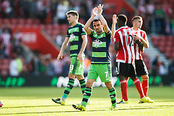 Swansea City's Leon Britton - Mandatory by-line: Jason Brown/JMP - 07966 386802 - 26/09/2015 - FOOTBALL - Southampton, St Mary's Stadium - Southampton v Swansea City - Barclays Premier League