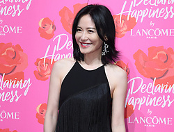 June 21, 2017 - Shanghai, Shanghai, China - Shanghai, CHINA-June 21 2017: (EDITORIAL USE ONLY. CHINA OUT) ..The 46-year-old Chinese actress Yu Feihong wearing a black dress attends an event of Lancome in Shanghai, June 21st, 2017. (Credit Image: © SIPA Asia via ZUMA Wire)