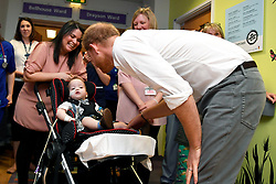 The Duke of Sussex during a visit to Oxford Children's Hospital, based at the John Radcliffe hospital site in Oxford.