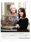 Portraits of Judith and Paris Neilson, White Rabbit Gallery, Sydney.