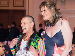 Old Town Hall, Stratford, London - 28 November 2015. Singers Marc Almond, Ronan Parke, Heather Peace and Asifa Lahore headline the Peter Tatchell Foundation's inaugural Equality Ball, a fundraiser for the foundation's LGBTI and human rights work, with guest of honour Sir Ian McKellen  joined by Michael Cashman.  //// FOR LICENCING CONTACT: paul@pauldaveycreative.co.uk TEL:+44 (0) 7966 016 296 or +44 (0) 20 8969 6875. ©2015 Paul R Davey. All rights reserved.//// FOR LICENCING CONTACT: paul@pauldaveycreative.co.uk TEL:+44 (0) 7966 016 296 or +44 (0) 20 8969 6875. ©2015 Paul R Davey. All rights reserved.