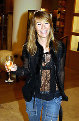 The HON.JACKIE PERTWEE wife of actor Sean Petwee at a party hosted by Burberry to launch their special collection in aid of Breakthrough Breast Cancer, held at 21-23 New Bond Street, London W1 on 5th October 2004.<br /><br />NON EXCLUSIVE - WORLD RIGHTS